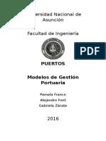 Modelos de Gestión Portuaria - Grupo 14 - 15 de Mayo