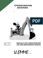 Backhoe Use and Maintenance