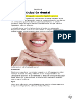 Oclusión Dental