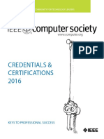 Certification Catalog 2016