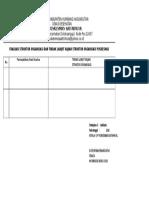 2.1.3.a Bukti Evaluasi Struktur Organisasi Pusk