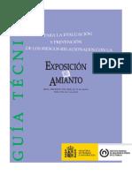 Guía Técnica Exposición Al Amianto