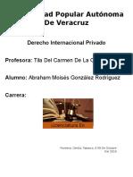 Monografia del derecho internacional