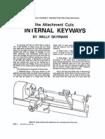 Lathe Keyway Cutting Attachment-1