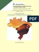 Evolução Do Transporte Ferroviário 2016 - Até Agosto