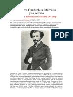 Gustave Flaubert, La Fotografía y Su Retrato