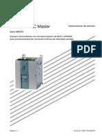 6RA70 DCM Instrucciones de Servicio FW2.2 - 2005