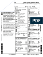 Tarrant County Sample Ballot
