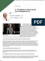 Horacio Jaunarena_ _El Gobierno viola la ley de inteligencia y afecta la intimidad de los ciudadanos_ - 13.07.2015 - lanacion.com.pdf