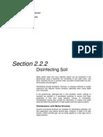 Desinfecting Soil