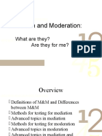 Mediation and Moderation _ 2011