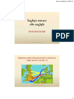 Storia Della Lingua Inglese Antico Inglese