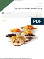 Deshidratar Frutas y Verduras Varios Métodos y Sus Beneficios - Notas - La Biog