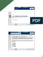CODIGO COLORES FIBRA