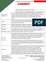 Descripcion Sellos Multipunto PARA VALVULAS de BOLA