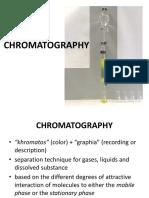 Experiment 5 (Chromatography)