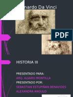 Arq. Alvaro Montilla- Leonardo Davincci
