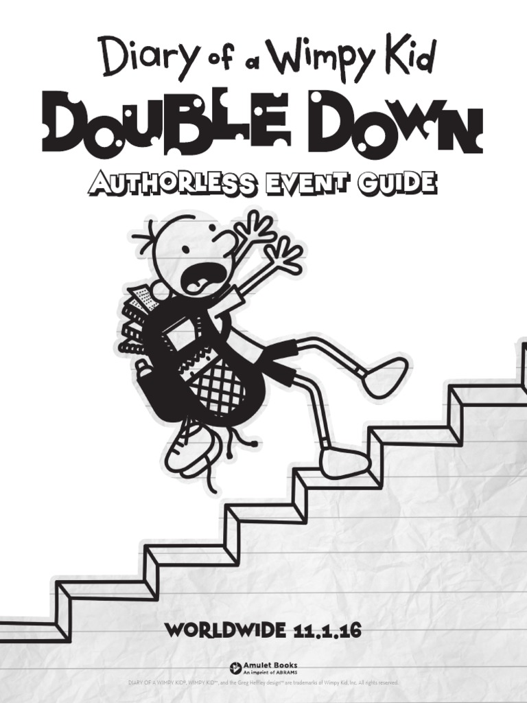 Diary of a wimpy kid double down authorless event guide leisure solutioingenieria Gallery