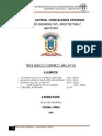 Informe Numero Uno-salida a Rio Seco