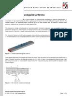 Ferrite-loaded Waveguide Antenna