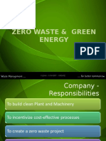 Zero Waste & Green Energy Brochure