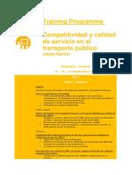 UITP Competitividad y calidad de servicio en el transporte público