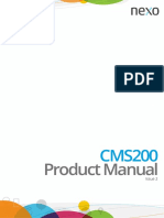 CMS200 Product Manual Iss2