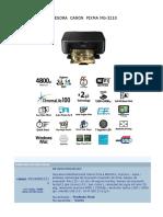 Impresora Canon Pixma Mg 3210