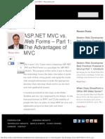 ASP.net Mvc vs. Web Forms