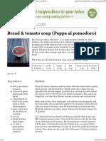 Bread & Tomato Soup (Pappa Al Pomodoro) _ JamieOliver