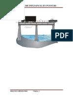 Lineas de Influencia de Puentes