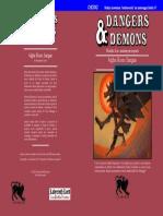 Alghe Rosso Sangue (CHDDX2 Dangers & Demons) Copertina