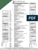 School Calendar AY 2016-2017