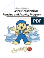 Financial Education Reading and Activity Program - SAMPLE