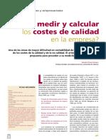 Como Medir y Calcular Los Costos de Una Empresa