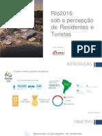 Apresentação Resultados Jogos Olimpicos Residentes e Turistas