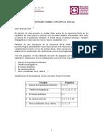Cuestionario Conciencia Fiscal