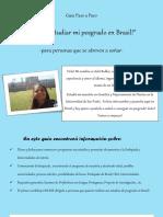 Quiero ir a Brasil