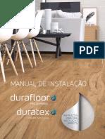 Manual instalação piso laminado duraflor