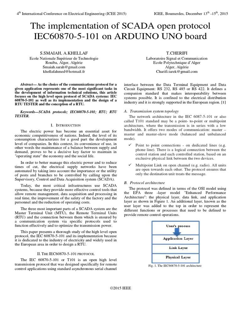 iec 60870 5 101 pdf_paper ID198.pdf | Scada | Communications Protocols
