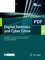 7900.Digital Forensics and Cyber Crime Second International ICST Conference, ICDF2C 2010, Abu Dhabi, United Arab Emirates... by Ibrahim Baggili