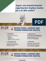 4 Pasos Para Lograr Una Transformación Digital