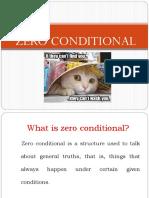 Zero Conditional 3rd Level