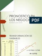 02 Transformación de Variables- Pronóstico en Los Negocios I