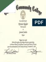general studies diploma