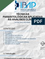 Apostila Slides Curso de Técnicas Parasitológicas