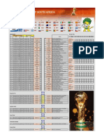 FIFA World Cup South Africa 2010 - Excel file .