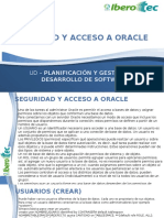 Seguridad y Acceso a Oracle