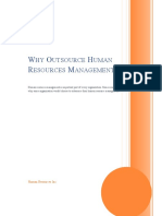 Why Outsource Human Resources Management