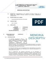 Memoria Descriptiva Guia